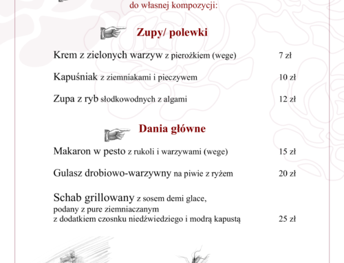 Menu Lunch 19-25 kwietnia